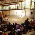 Live performance at the Art Shed